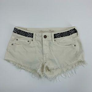 American eagle cut off denim jean shorts 6